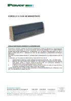 preview Cordolo 12/15 Pieno Incastro Monostrato