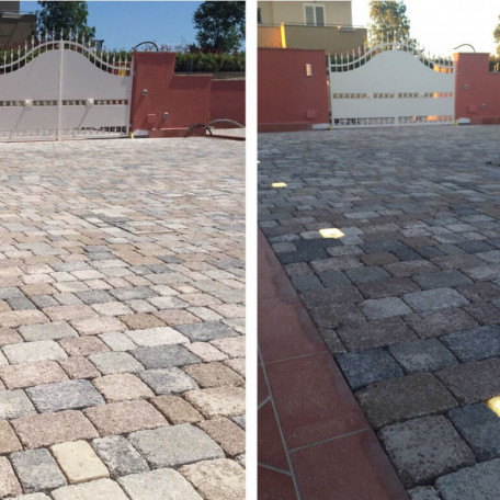 Paver Led acceso/spento